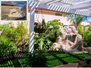 San Juan Capistrano Tropical Plant Overhaul