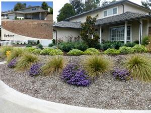 Mission Viejo front yard renovation